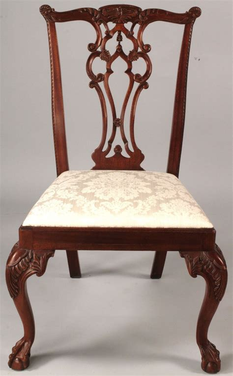 lot 514 assembled set 8 dining chairs hickory maitland