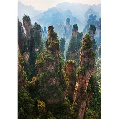 Zhangjiajie National Forest Park - The Otherworldly Wonder