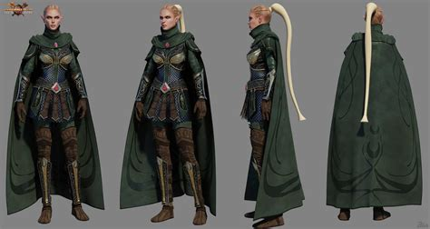 warhammer online cinematic characters spread over
