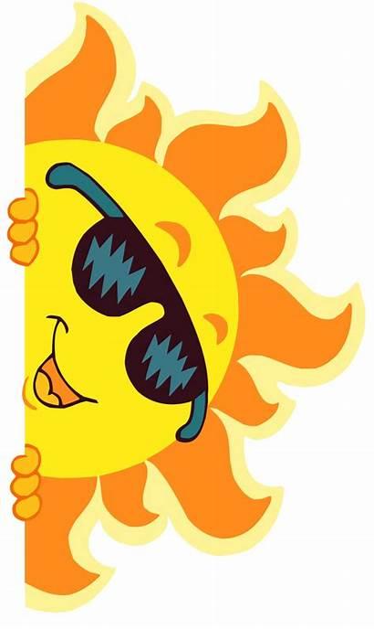 Clipart Clip Sun Camp Transparent Sunshine Verano