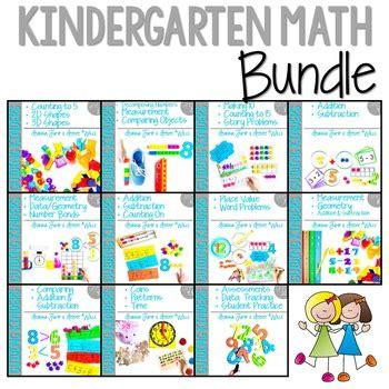 Kindergarten Math  Complete Bundle All Eleven Units By Deanna Jump