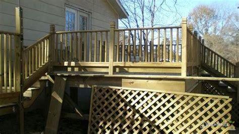 alternatives to lattice under deck or porch for deck