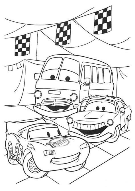 Cars Kleurplaat A4 by Kleurplaat Cars Afb 20749