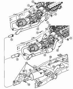 2007 Dodge Ram 2500 Muffler  Exhaust  Engine  System  Hemi