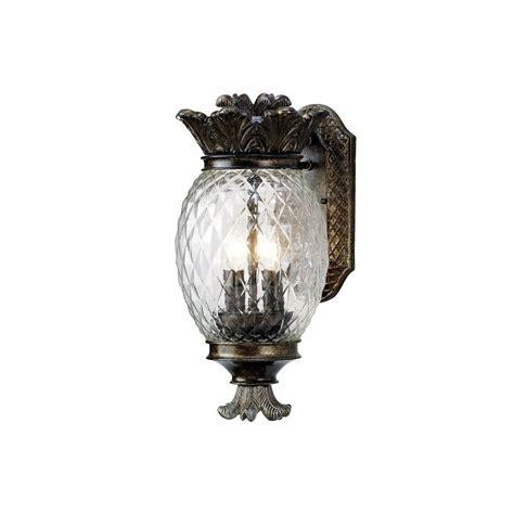 monteaux lighting wall mount bronze outdoor small