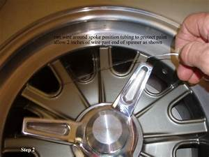 Custom Tool And Design Safety Wiring Procedure For Spinners Vintage Wheels