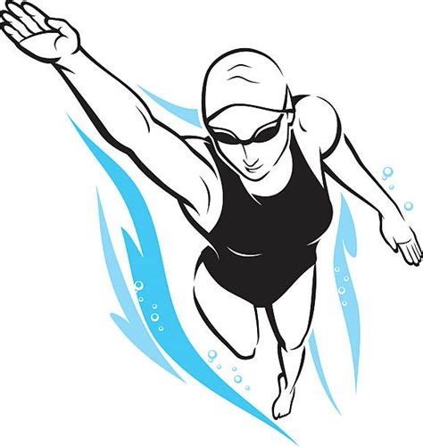 foto de Best Freestyle Swimming Illustrations Royalty Free Vector