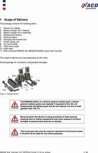 Acd Elektronik M260se Mobile Terminal M260se With Docking