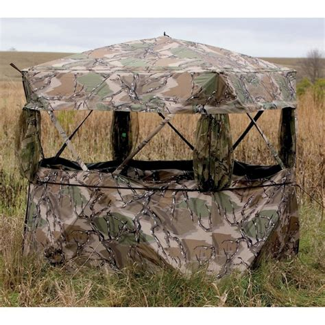 gander mountain ground blinds 1265 best woodsman 5 stands blinds feeders cams more