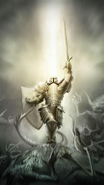 Iphone Crusaders Crusader Diablo Wallpapers Armor Backgrounds