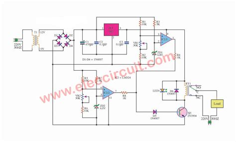 Over Under Voltage Protection Circuit Eleccircuit