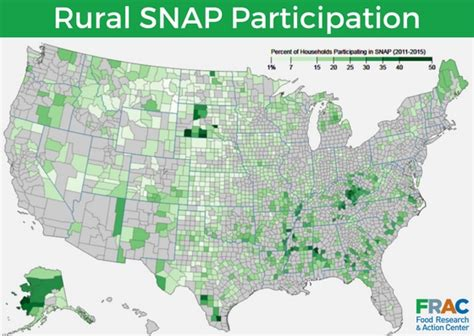 snap map household participation rates in rural areas