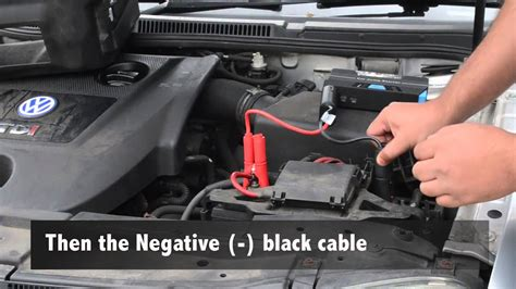 How To Jump Start A Car Battery With A Portable Jump