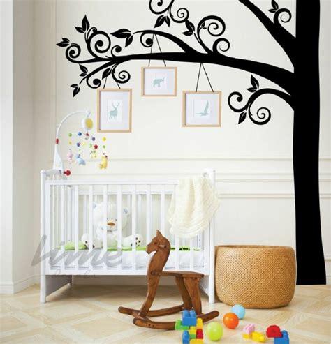 chambre de bébé originale stickers chambre bébé fille pour une déco murale originale