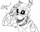 Fnaf Coloring Freddy Nights Five Printable Sheets Puppet Naf Chica Withered Freddys Colorir Getdrawings Marionette Wiki Desenhar Sister Location Foxy sketch template
