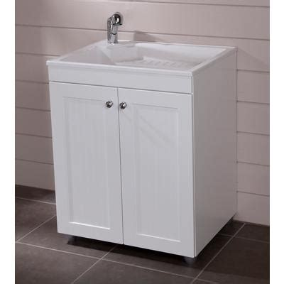 Home Depot Laundry Sink Canada by St Paul 27 Inch X 32 Inch Laundry Base Cabinet In White