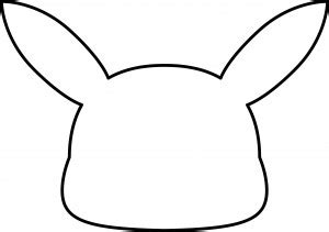 Pikachu Tail Template   Pikachu Tail Template Natashamillerweb