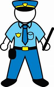 Cartoon Police Officer - Cliparts.co