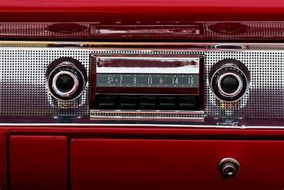 Radio Audio Retro Automobile Dell Coche Altes
