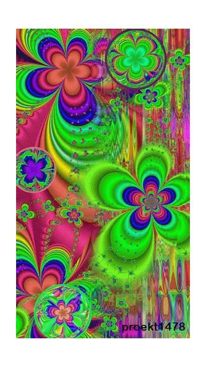 Gifs Trippy Psychedelic Flower Power Hippie Fractal