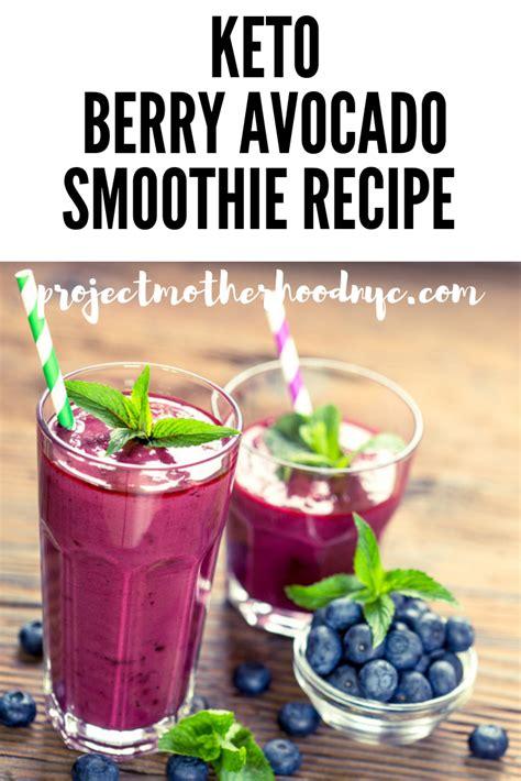 You guys will not believe how good this keto avocado smoothie recipe is. Berry Avocado Keto Smoothie | Recipe | Keto smoothie recipes, Benefits of organic food, Smoothie ...