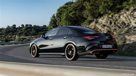 It's longer, wider, more luxurious, more capable, and now has mercedes newest cloud based. 2020 Mercedes-Benz CLA 250 Coupe Edition Orange Art AMG Line (Color: Cosmos Black) - Rear Three ...
