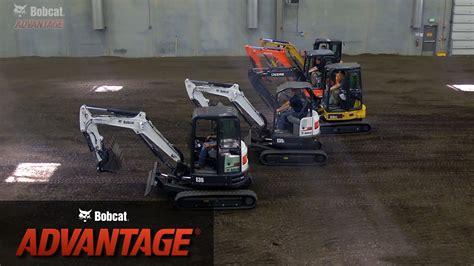 bobcat advantage bobcat   excavator brands youtube