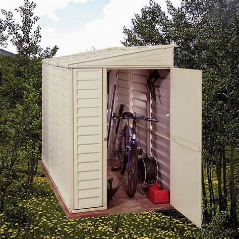 Duramax Storage Shed Dubai by Duramax 00614 06625 4 X8 Stronglasting Sidemate Vinyl