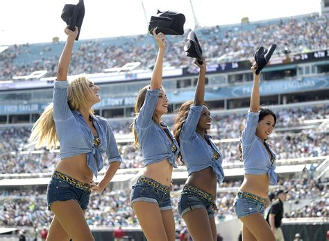 The group was established in 1995, the team's inaugural year, and regularly performs choreographed routines during the team's home contests. Best of 2016 Week 3 cheerleaders | NFL.com