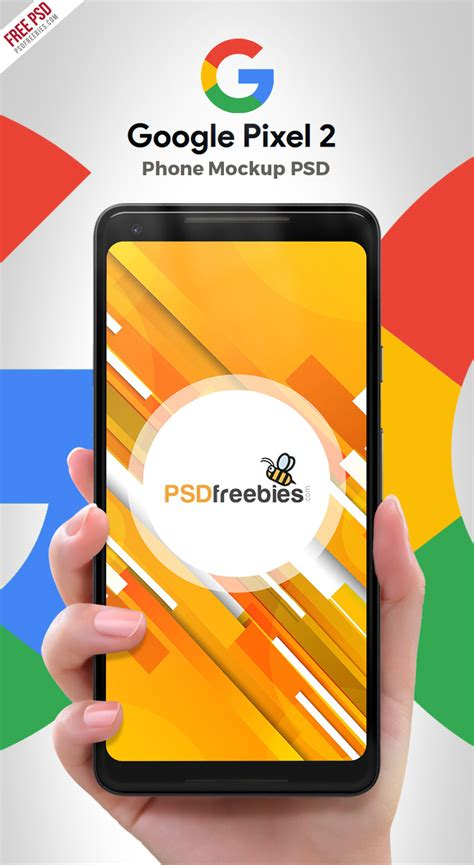 Todays freebie is a realistic google pixel xl mockup pack vol.1 created by anthony boyd. Google Pixel 2 Phone PSD Mockup | PSDFreebies.com
