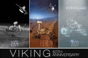 Images - Viking 40 Year Anniversary Artwork: Mars Past ...