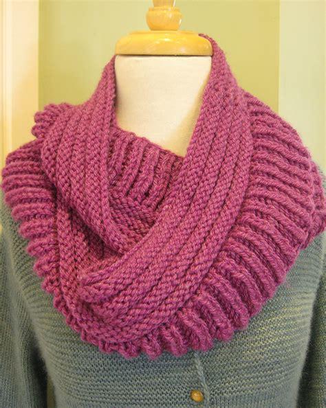 reversible scarf knitting patterns   loop knitting