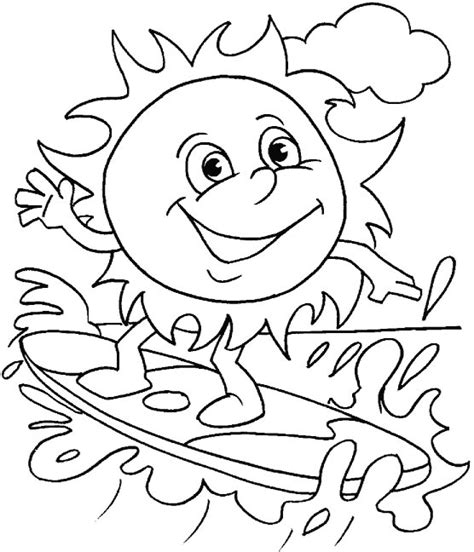 water surfing coloring page   water surfing coloring page  kids  coloring
