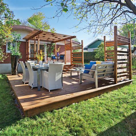 un patio en 233 construire un patio facilement en 233