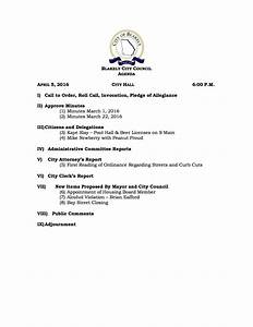 City Council Meeting Agenda for April 5, 2016 - City Of ...