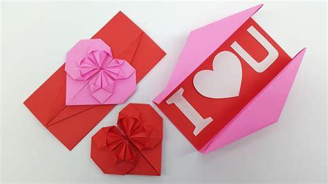 origami heart envelope box diy envelope paper heart