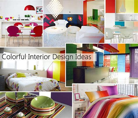 rainbow designs  colorful home decor ideas