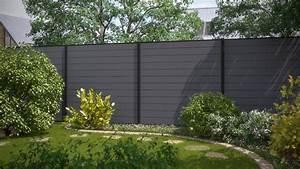 Sichtschutzzaun Kunststoff Weiß 180x180 : 2 zaundesign garten system wpc grau und anthrazit ~ Whattoseeinmadrid.com Haus und Dekorationen