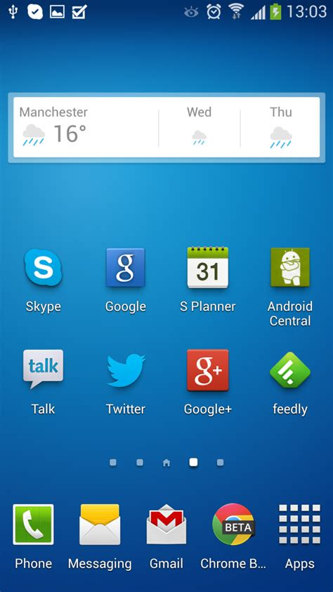 where is my android how to get to now on the samsung galaxy s4