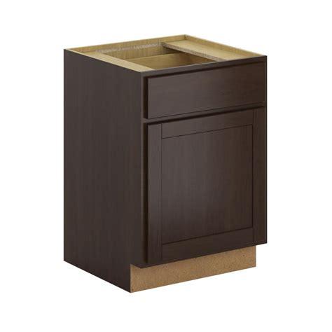 9 kitchen base cabinet hton bay princeton shaker assembled 24x34 5x24 in base 3952