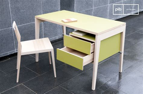 lade scrivania design n 246 ten bureau met lades 100 gemaakt essenhout pib