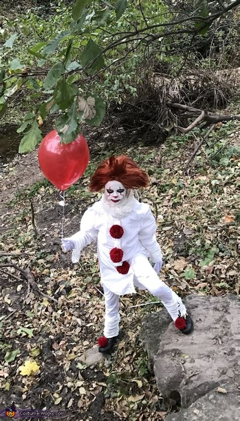 easy diy pennywise girls costume