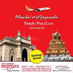 Air India Express Mumbai To Vijayawada Simply Priceless Ad ...