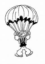 Parachute Popeye Coloring Pages Sailor Drawing 473f Drawings Print Flying Printable Clipart Clip Tv Getdrawings Adult 1060px 76kb sketch template