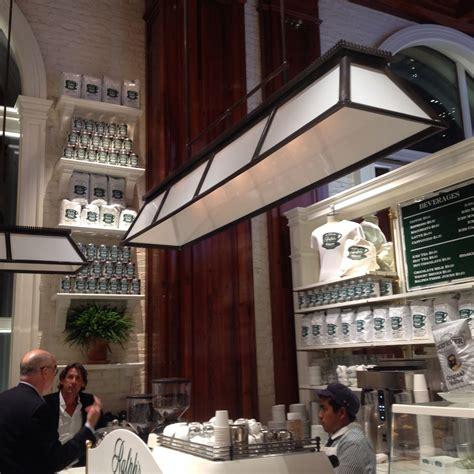 Coffee shop in london, united kingdom. Ralph's Coffee Ralph's Coffee is the first-ever coffee shop from iconic designer and coffee ...