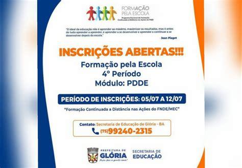 Prefeitura de Glória - BA anuncia inscrições para o Curso ...