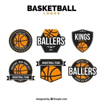 basketball logo vectors   psd files