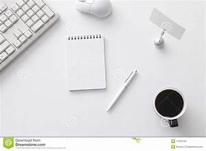 fice Desk Stock Image