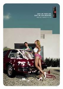 """Axe Deodorant: """"CAR WASHING"""" Print Ad by Vegaolmosponce"""