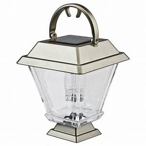 solar silver lantern With the range outdoor garden lighting
